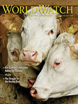Worldwatch Institute, Livestock and Climate Change 2009